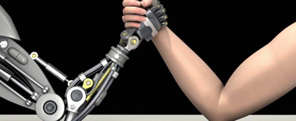 RobotArmWrestle