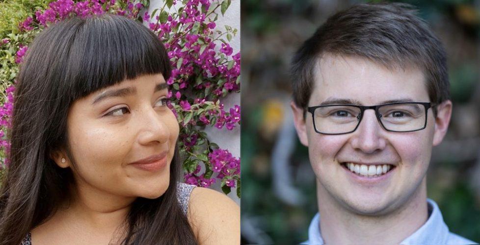 Rebecca Corona and Stephen Bates